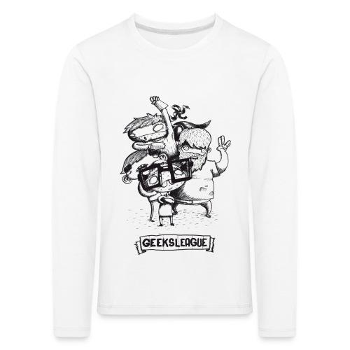 Illu Geeksleague - T-shirt manches longues Premium Enfant
