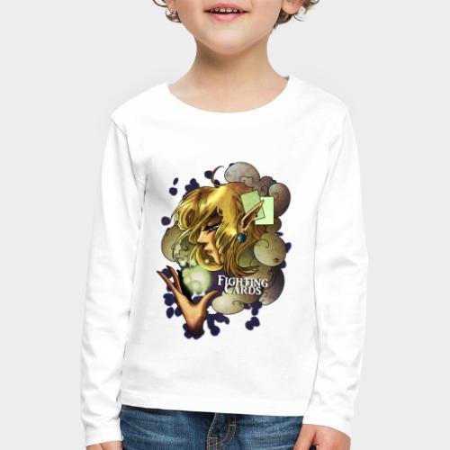 Fighting cards - Soigneuse - T-shirt manches longues Premium Enfant