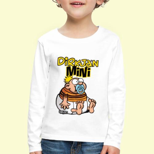 DirkjanBaby - Kinderen Premium shirt met lange mouwen