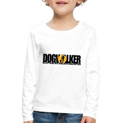 Dogwalker - Kinder Premium Langarmshirt