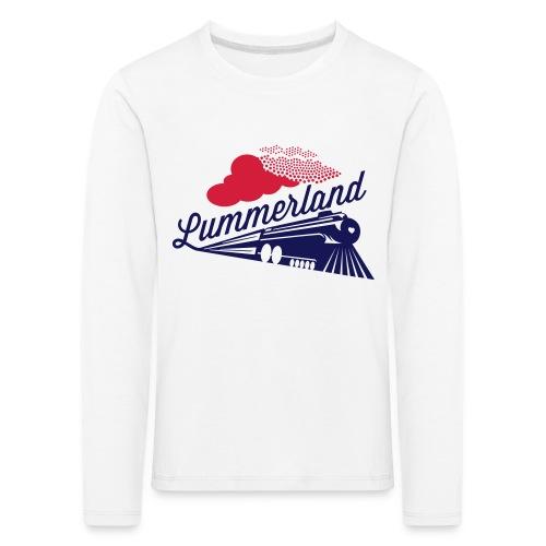 Logo_Lokomotive_Lummerlan - Kinder Premium Langarmshirt