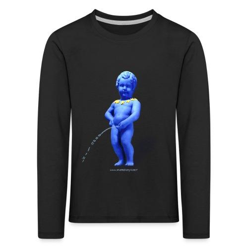 EUROPA mannekenpis ♀♂ | Enfant - T-shirt manches longues Premium Enfant
