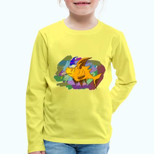80s comic - Kids' Premium Longsleeve Shirt