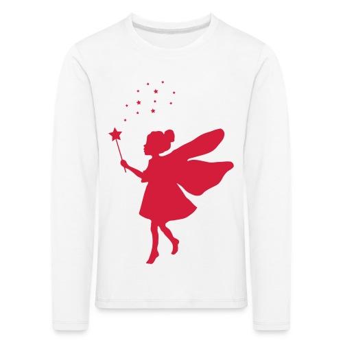 Fee mit Sternenstaub - Kinder Premium Langarmshirt