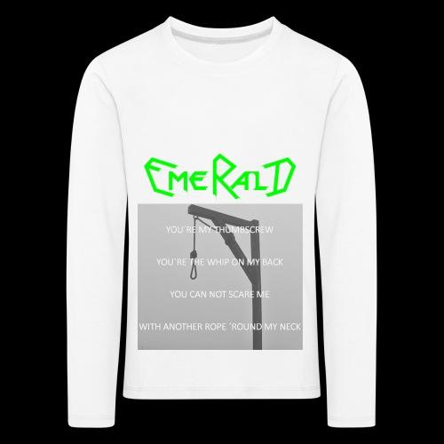 Emerald - Kinder Premium Langarmshirt