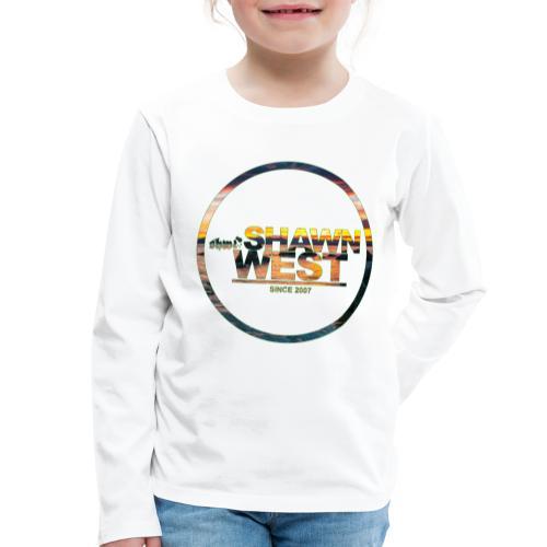 SHAWN WEST BEACH SUN DOWN - Kinder Premium Langarmshirt