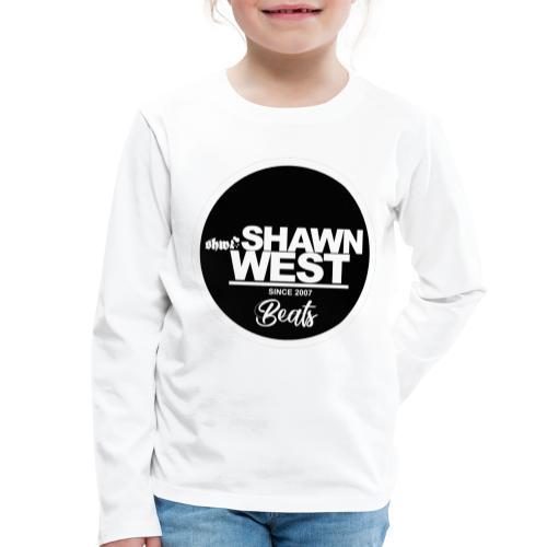 SHAWN WEST BUTTON - Kinder Premium Langarmshirt