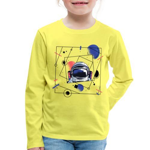 Beste Astronaut Weltraum Designs - Kinder Premium Langarmshirt