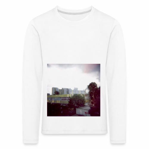 Original Artist design * Blocks - Kids' Premium Longsleeve Shirt