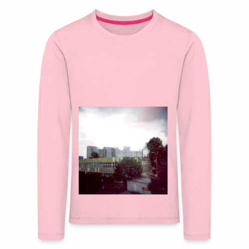 Original Artist design * Blocks - Kids' Premium Longsleeve Shirt