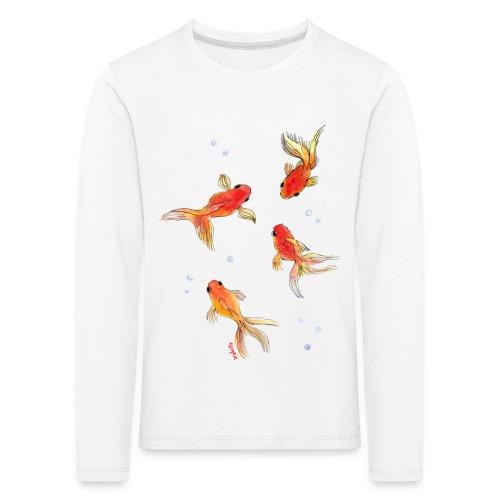 Slöjstjärt större - Långärmad premium-T-shirt barn