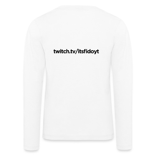 Fido - Twitch Link - Børne premium T-shirt med lange ærmer