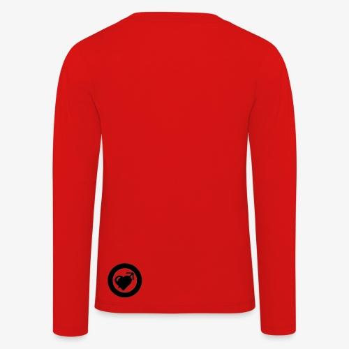 LOOVE (SS18) - Maglietta Premium a manica lunga per bambini