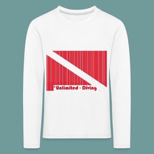 flag_barre_ud - T-shirt manches longues Premium Enfant