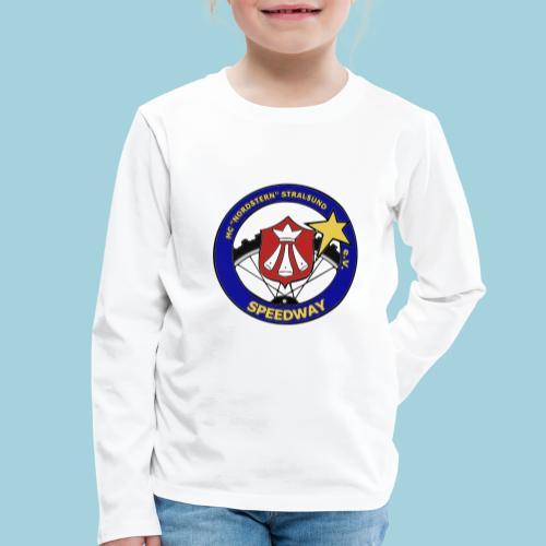 MCN Logo beidseitig - Kinder Premium Langarmshirt