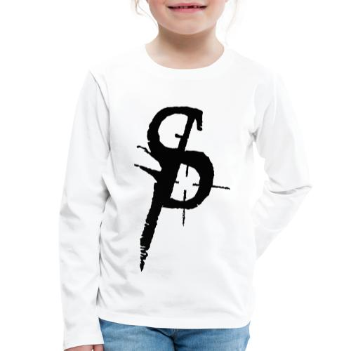 duality ps logo - Långärmad premium-T-shirt barn