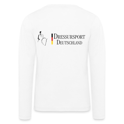dressursport deutschland horizontal - Kinder Premium Langarmshirt