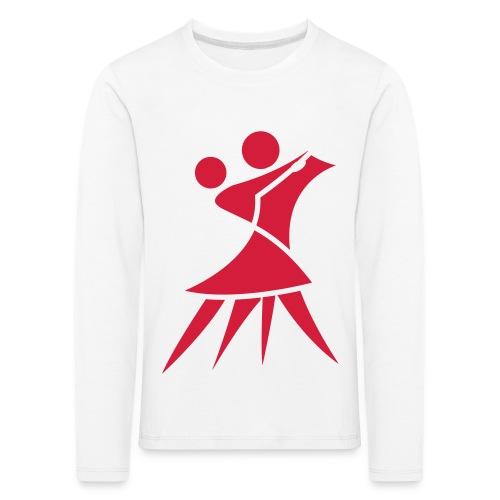 (Vector) Logo Paar - Kinder Premium Langarmshirt