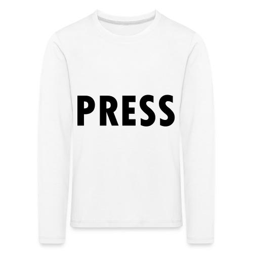 press - Kinder Premium Langarmshirt