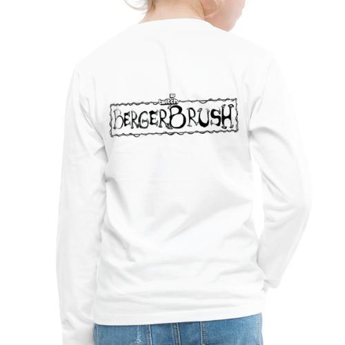 Tomato Team - Twitch Back - Långärmad premium-T-shirt barn