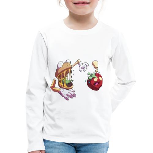 Tomato Chase - Twitch Back - Långärmad premium-T-shirt barn
