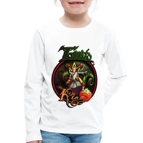 Tomato King - Twitch Back - Långärmad premium-T-shirt barn
