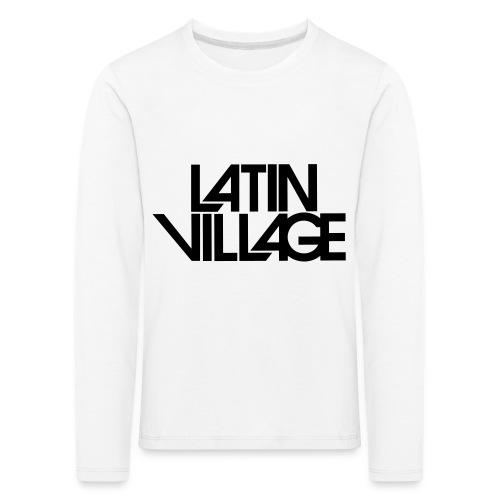 Logo Latin Village 30 - Kinderen Premium shirt met lange mouwen