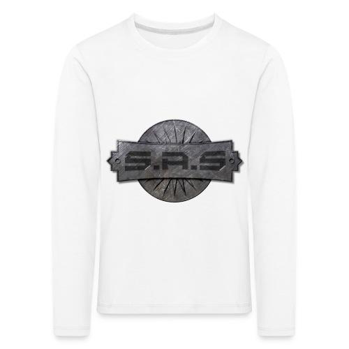 metal background scratches surface 18408 3840x2400 - Kinderen Premium shirt met lange mouwen