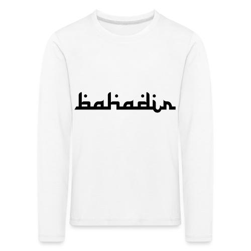 bahadir logo1 png - Kinder Premium Langarmshirt