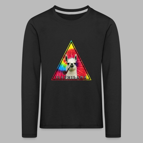 Illumilama logo T-shirt - Kids' Premium Longsleeve Shirt