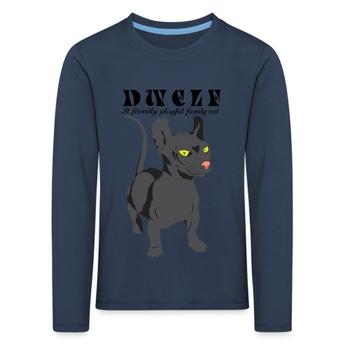 DWELF - Lasten premium pitkähihainen t-paita