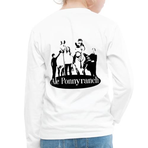 Ale Ponnyranch - Långärmad premium-T-shirt barn