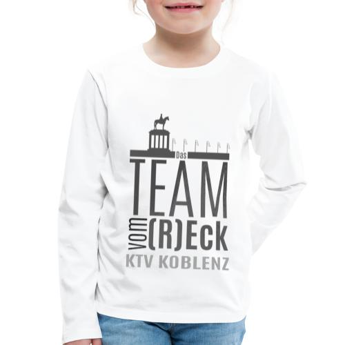 Shirt_Logo_2016_grau - Kinder Premium Langarmshirt