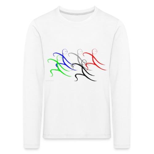 Tai Chi Gruppe - Kinder Premium Langarmshirt