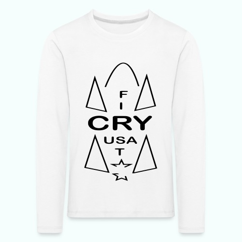 cry usa - Kinder Premium Langarmshirt