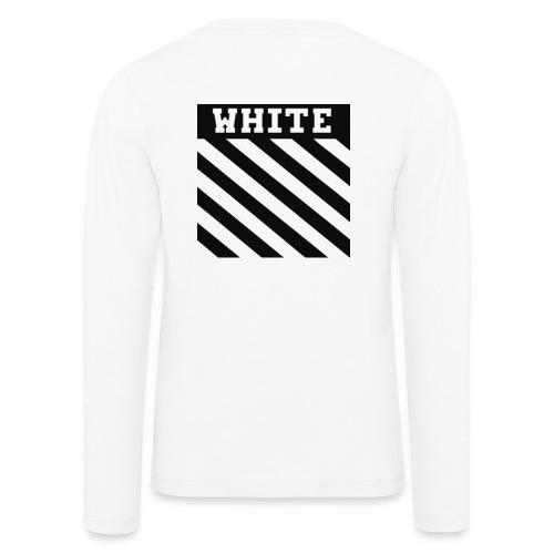 off white - Långärmad premium-T-shirt barn