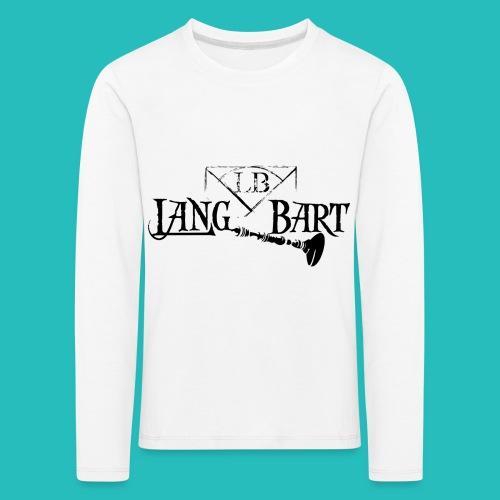 Logo-BN - Maglietta Premium a manica lunga per bambini