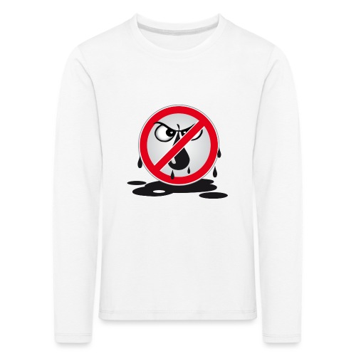 Erdöl - Nein danke! - Kinder Premium Langarmshirt