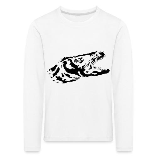 LoGo - Premium langermet T-skjorte for barn