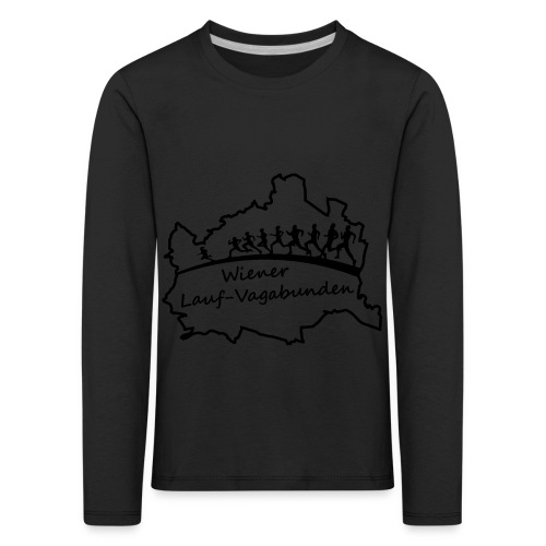 Laufvagabunden T Shirt - Kinder Premium Langarmshirt