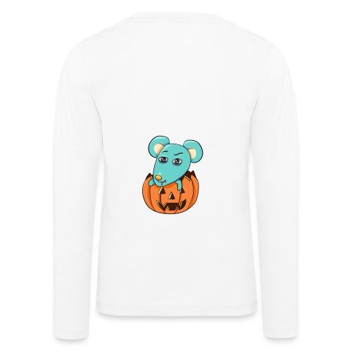 Halloween - Børne premium T-shirt med lange ærmer