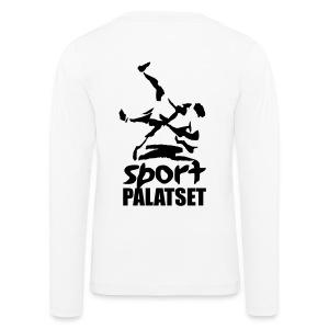 Motiv med svart logga - Långärmad premium-T-shirt barn