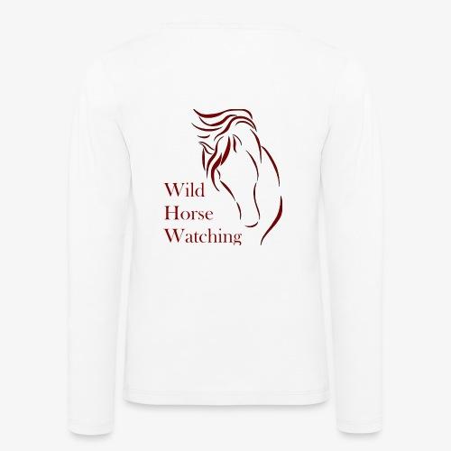 Logo Aveto Wild Horses - Maglietta Premium a manica lunga per bambini