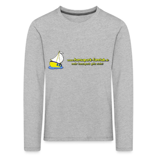 Logo Länglich png - Kinder Premium Langarmshirt