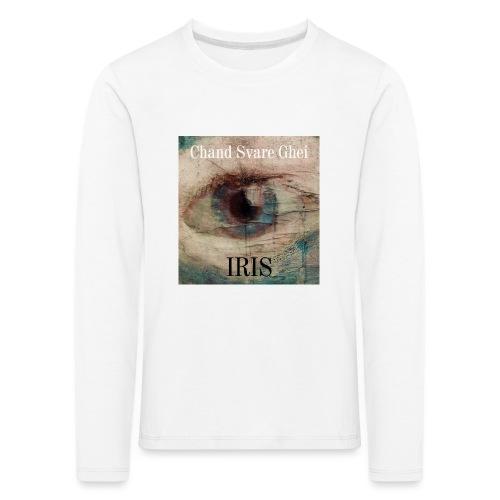 Iris - Premium langermet T-skjorte for barn