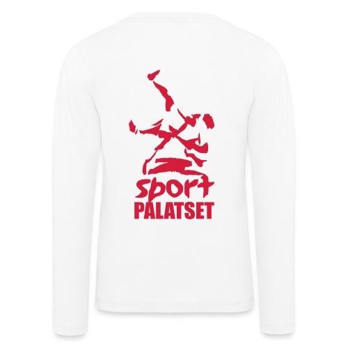 Motiv med röd logga - Långärmad premium-T-shirt barn