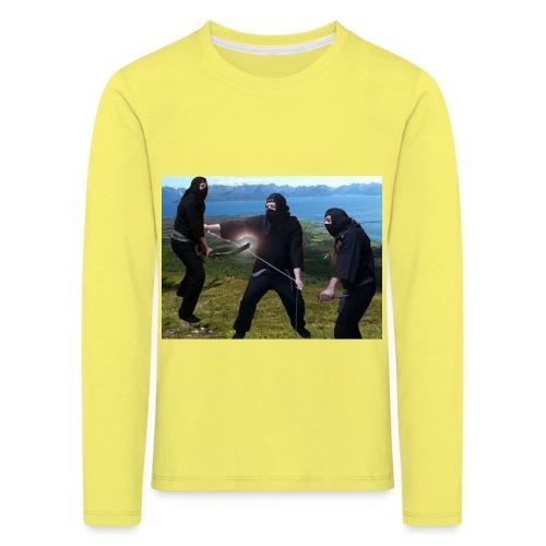 Chasvag ninja - Premium langermet T-skjorte for barn