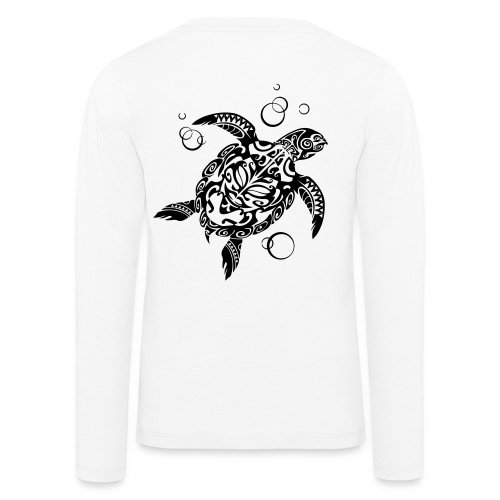 Watchful Turtle - Kids' Premium Longsleeve Shirt