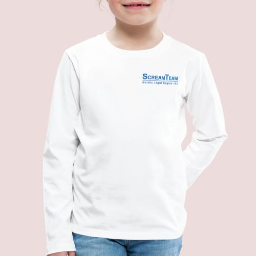 ScreamTeam Region 32 - Långärmad premium-T-shirt barn