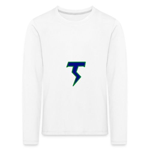 Thunder T png - Kids' Premium Longsleeve Shirt